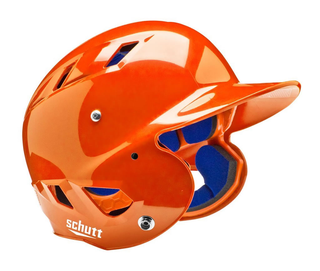 Schutt softball helmet