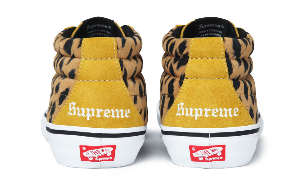 Sk8-Mid Pro Shoes, 2017 Collection By Supreme x Vans