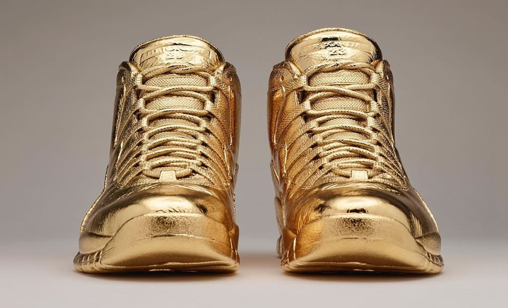 Solid Gold OVO x Air Jordans Sneakers