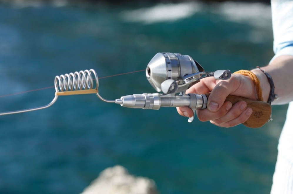 Stainless steel Fishing Rod by Wor.My