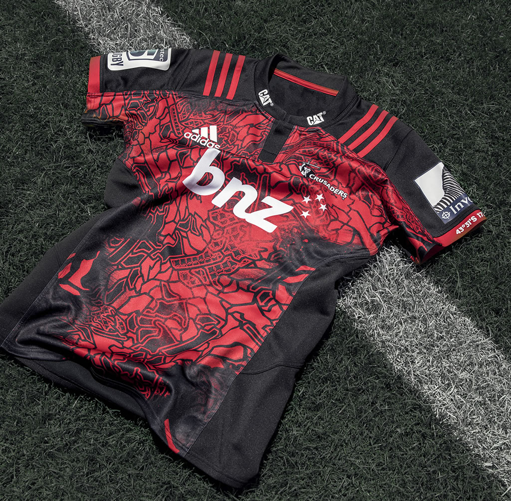 Super Rugby Jerseys By Adidas, Crusaders Jersey