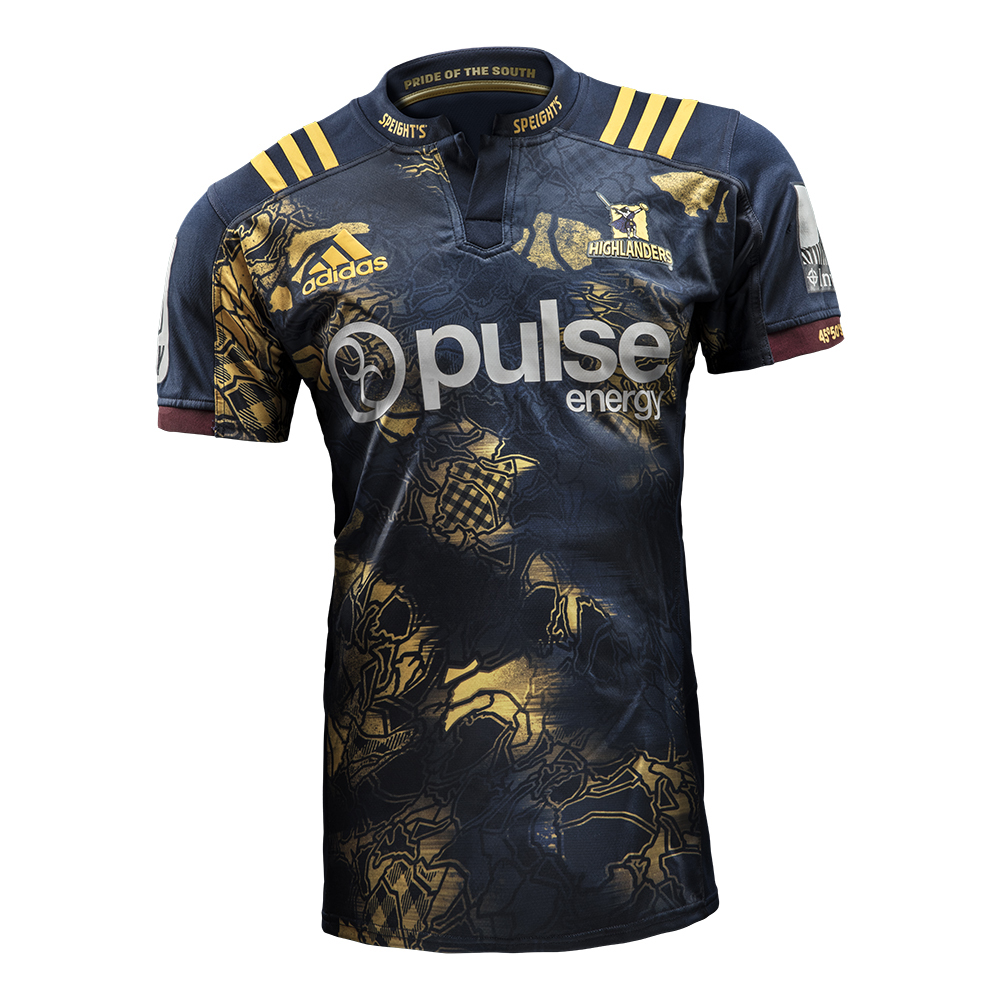 Super Rugby Jerseys By Adidas, Highlanders Jersey