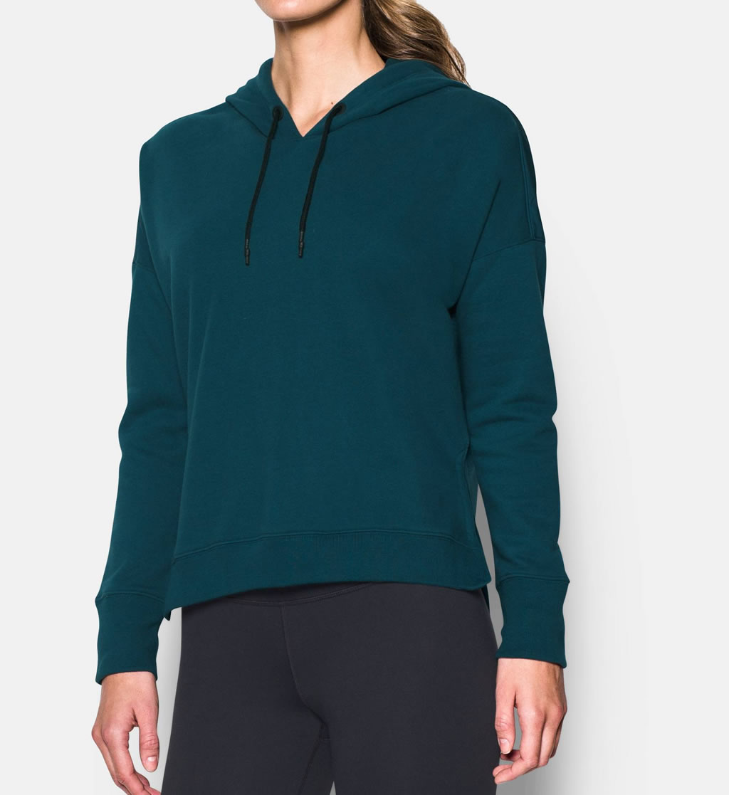 Teal Yoga Hoodie by Under Armour