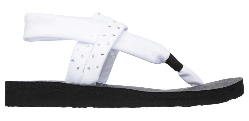 White Meditation - Shooting Star Sandal By SKECHERS