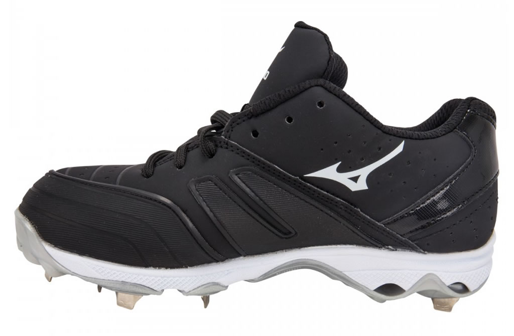 Women's 9-Spike Sweep 2 Fastpitch Cleat By Mizuno, Side