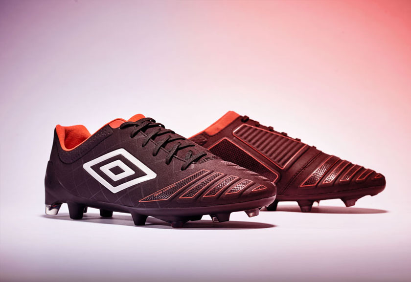 Black UX Accuro Pro HG Football Boots by Umbro