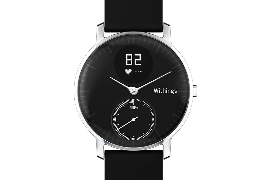 Black Withings Steel Hr Smartwatch Activity Tracker