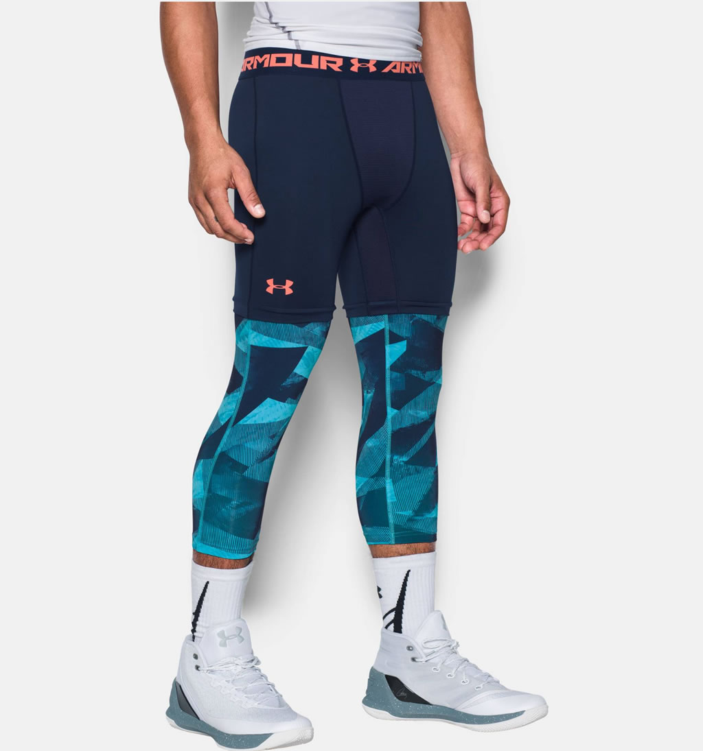 16d1dba41cfac Navy Men's basketball leggings by UA Blue basketball leggings for men by UA  Blue basketball leggings for men by Under Armour