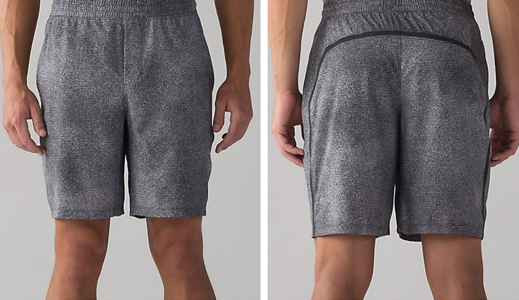 Carbon Pace Breaker Short For Men By Lululemon
