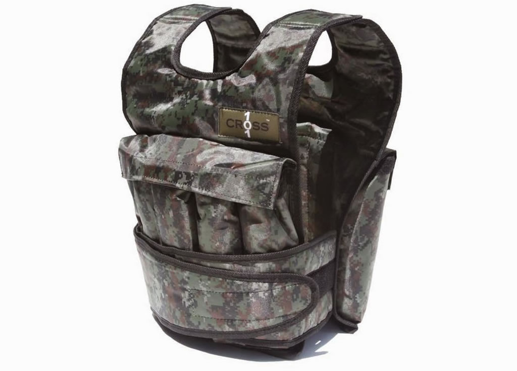 Cross 101 Camouflage Weighted Vest