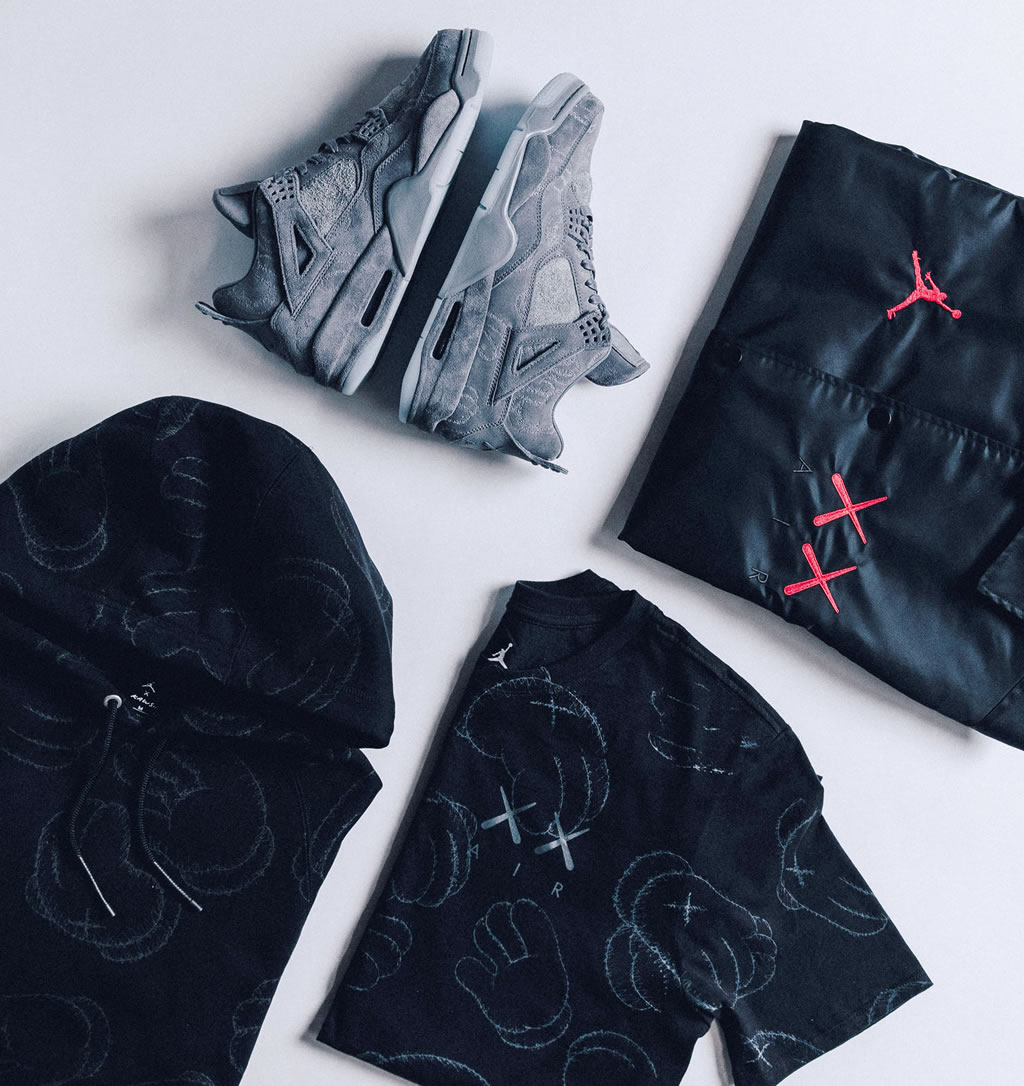 Exceptional Capsule Collection By KAWS And Jordan