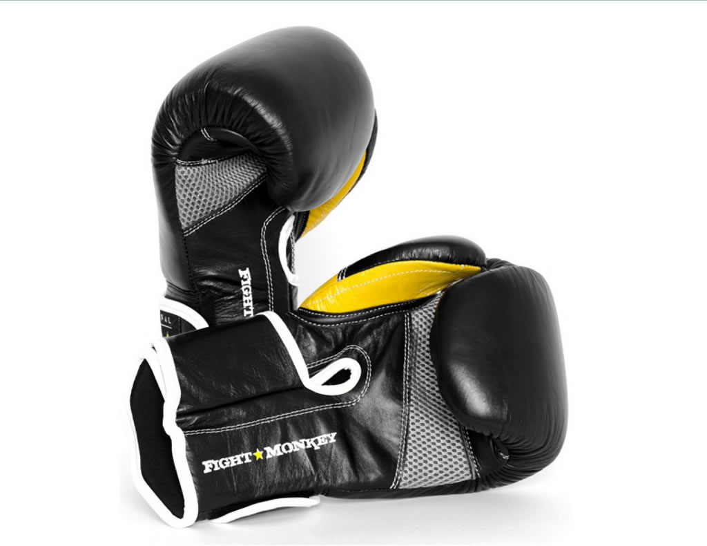 Fight Monkey Leather Training Gloves
