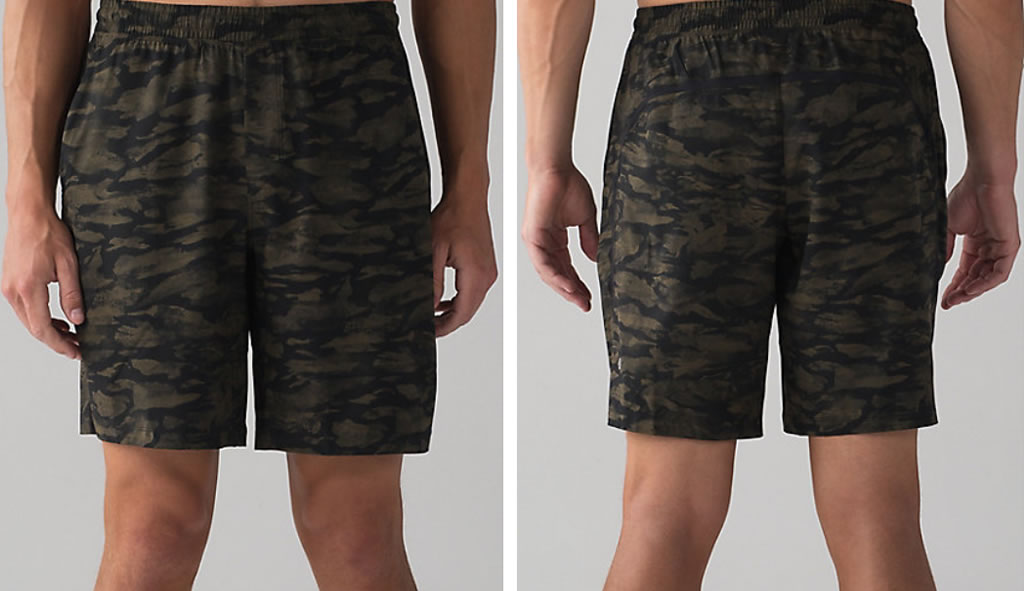 Green Pace Breaker Short For Men By Lululemon