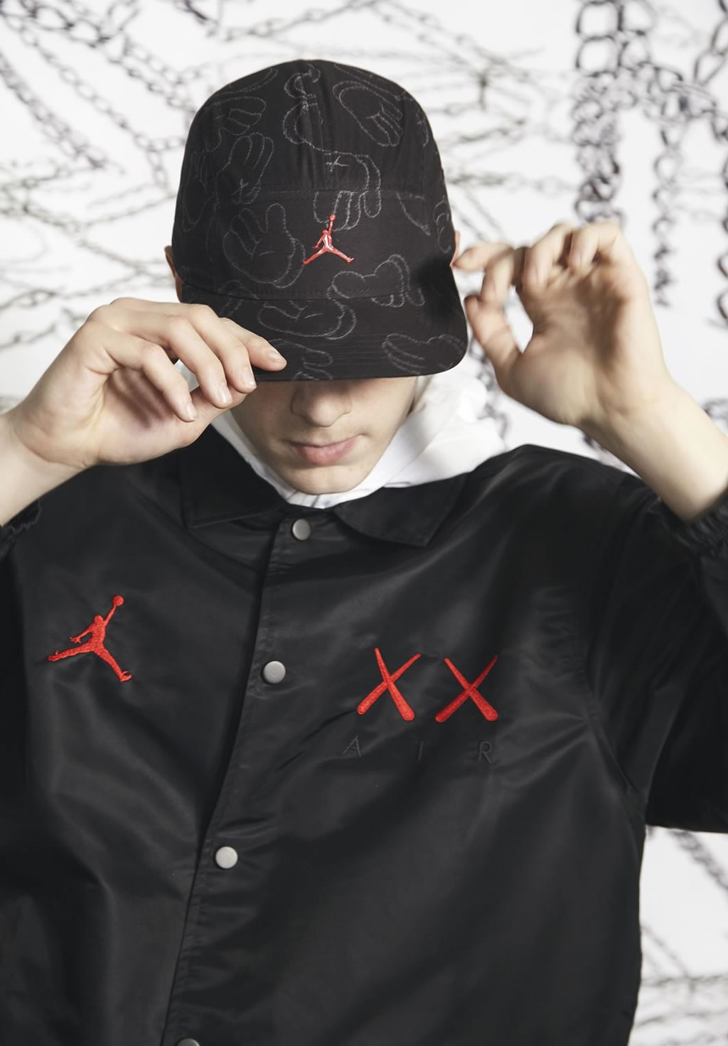Hat, Capsule Collection By KAWS And Jordan