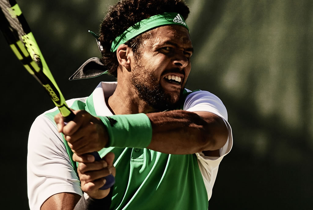 Jo-Wilfried Tsonga, 2017 Roland Garros Collection by Adidas