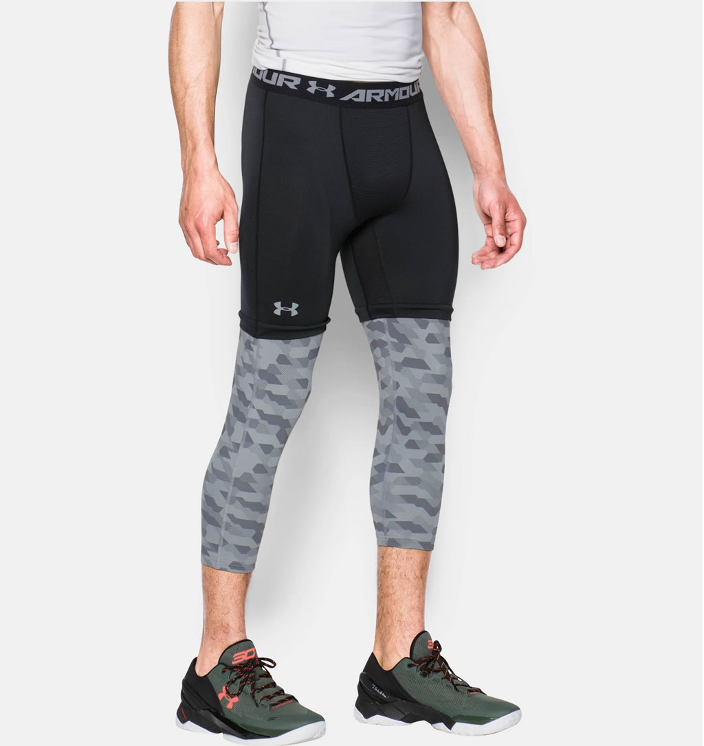 Men's compression tights by Under Armour