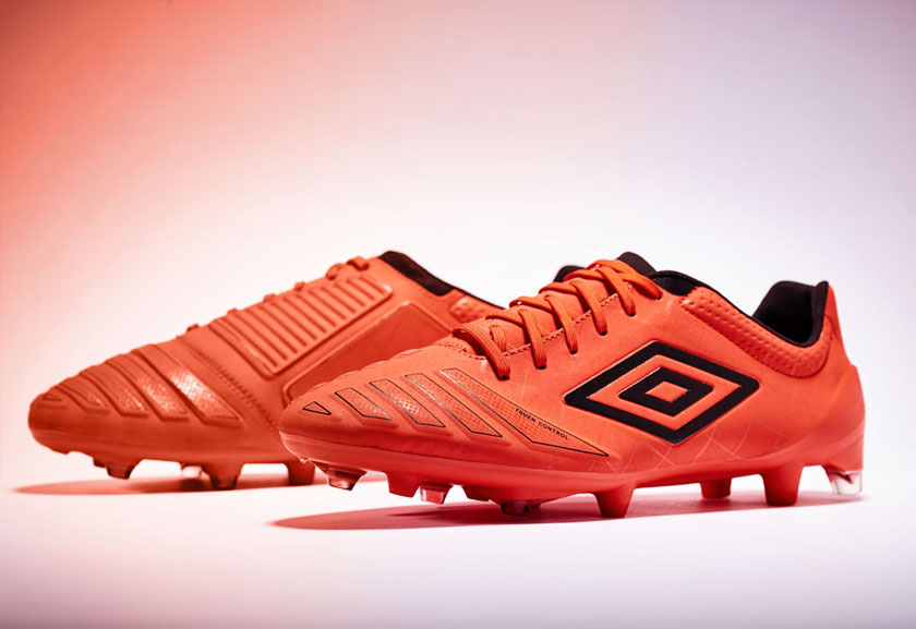 Orange UX Accuro Pro HG Football Boots by Umbro