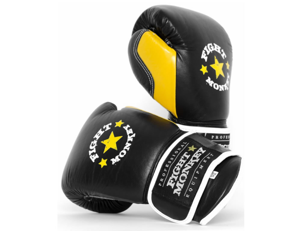 Reliable Fight Monkey Leather Training Gloves