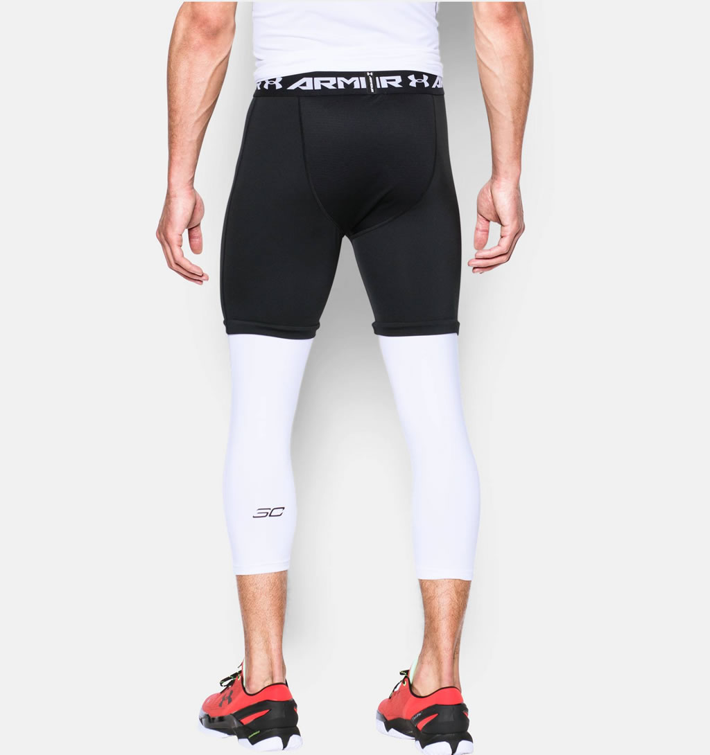 Under Armour basketball leggings for men, Back