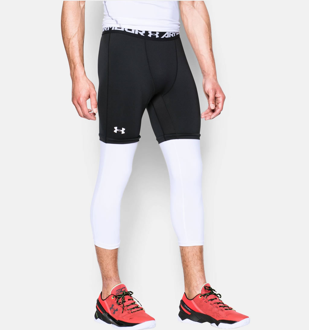 Under Armour Men S Sc30 Compression Basketball Leggings