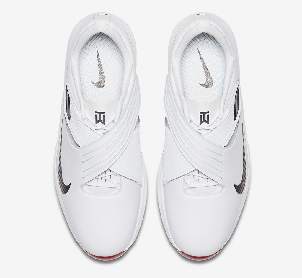 White Tiger Woods golf shoes by Nike