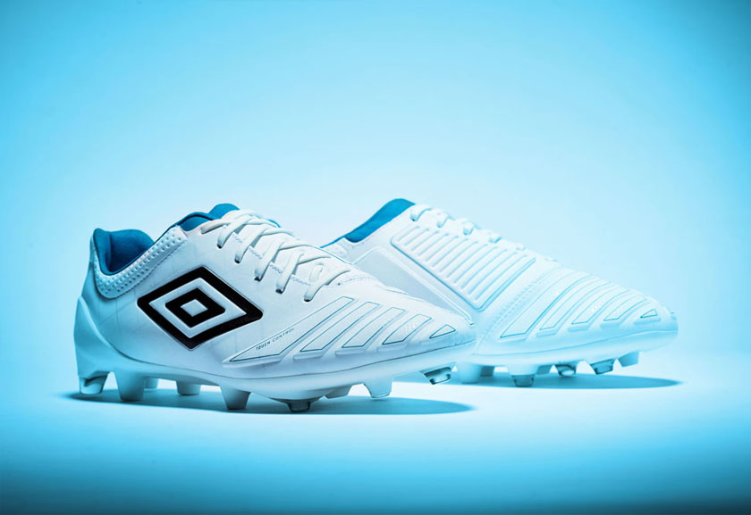 White UX Accuro Pro HG Football Boots