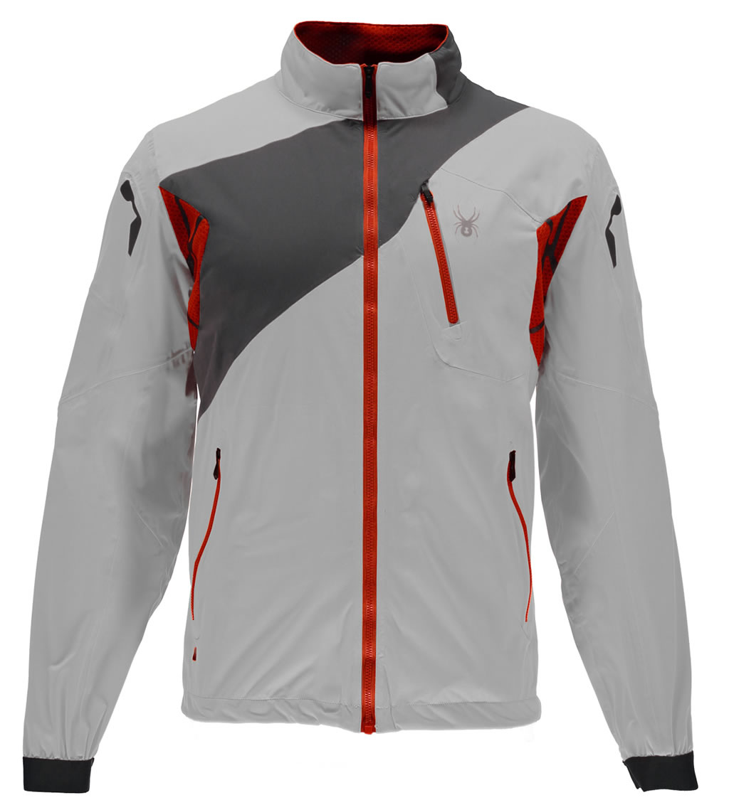 Cirrus Men's Aramis Windbeaker Shell Jacket By Spyder