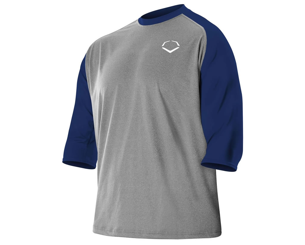 Evoshield 3-4 Sleeve Performance Shirt for Men