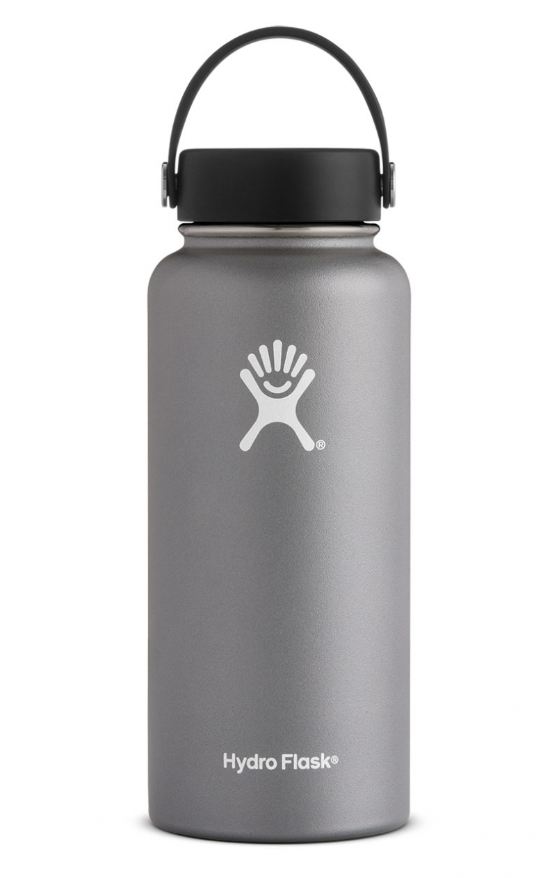 Graphite Hydro Flask 32 oz. Insulated Water Bottle