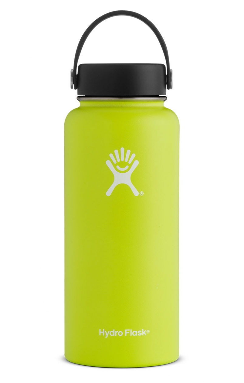 Lemon Hydro Flask 32 oz. Insulated Water Bottle