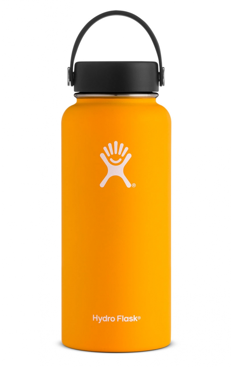 Mango Hydro Flask 32 oz. Insulated Water Bottle