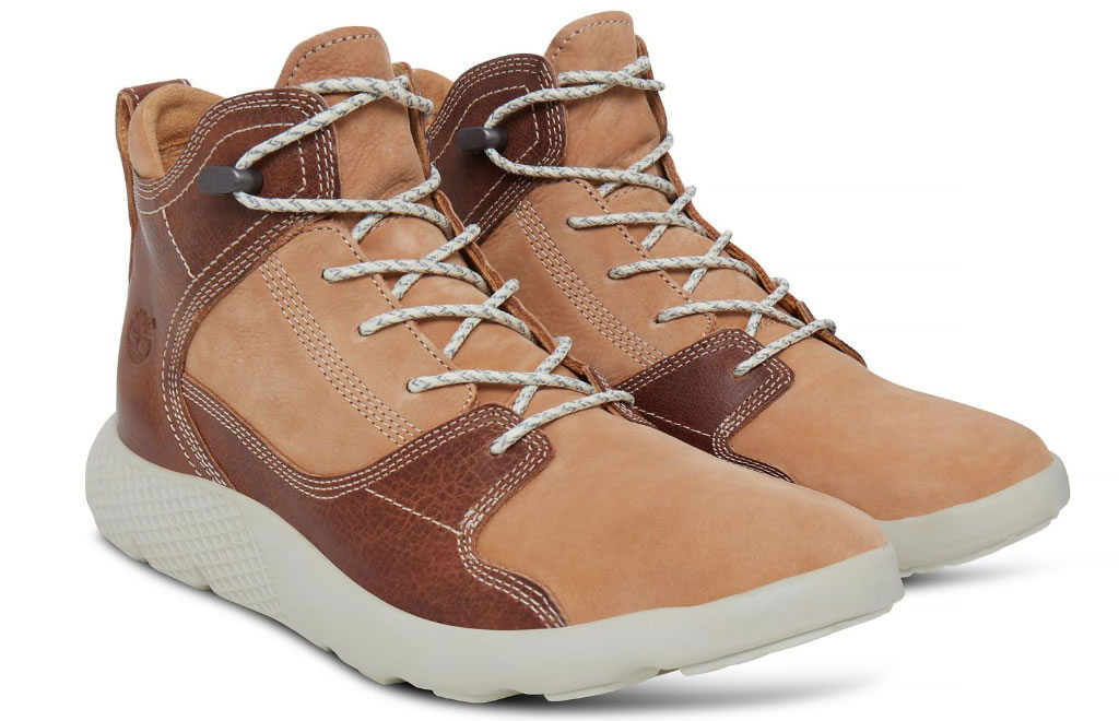 Men's Flyroam Leather Sport Chukka By Timberland