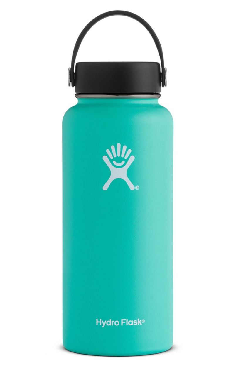 Mint Hydro Flask 32 oz. Insulated Water Bottle