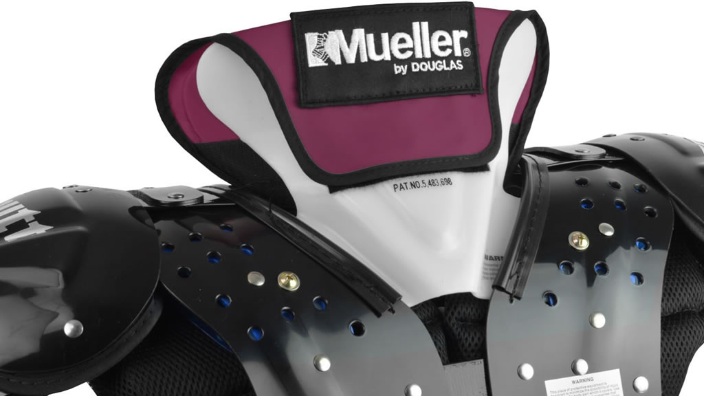 Mueller football neck collar