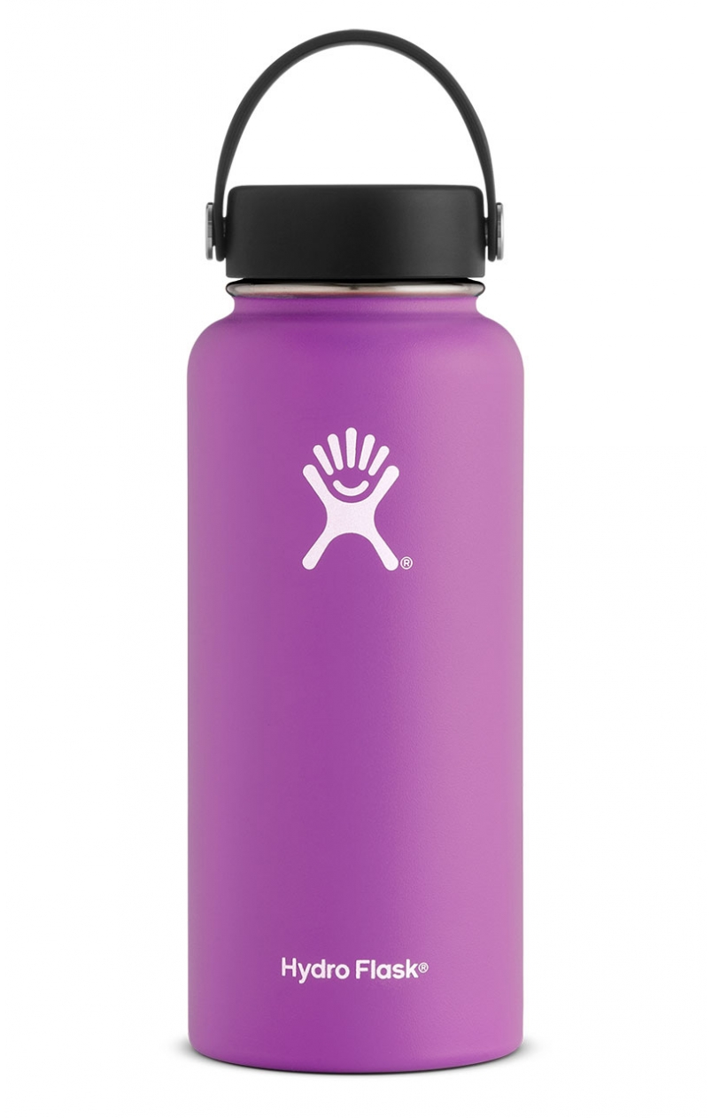 Raspberry Hydro Flask 32 oz. Insulated Water Bottle
