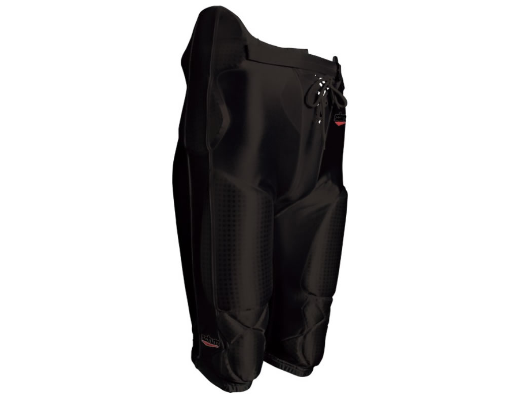 Youth All-in-One Polyester Football Pants With Pads By Schutt
