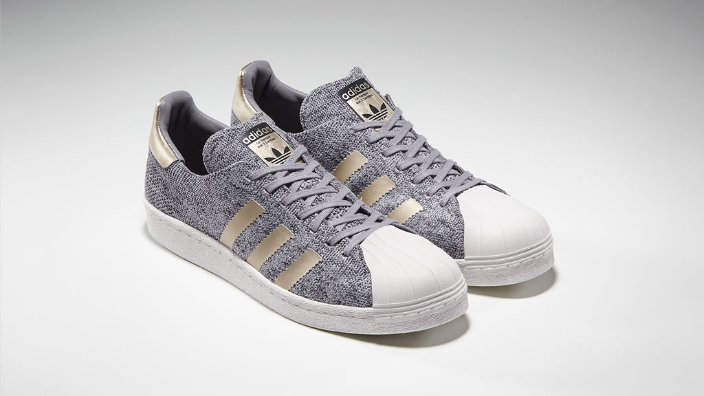 Adidas Platinum Superstar BOOST Sneakers