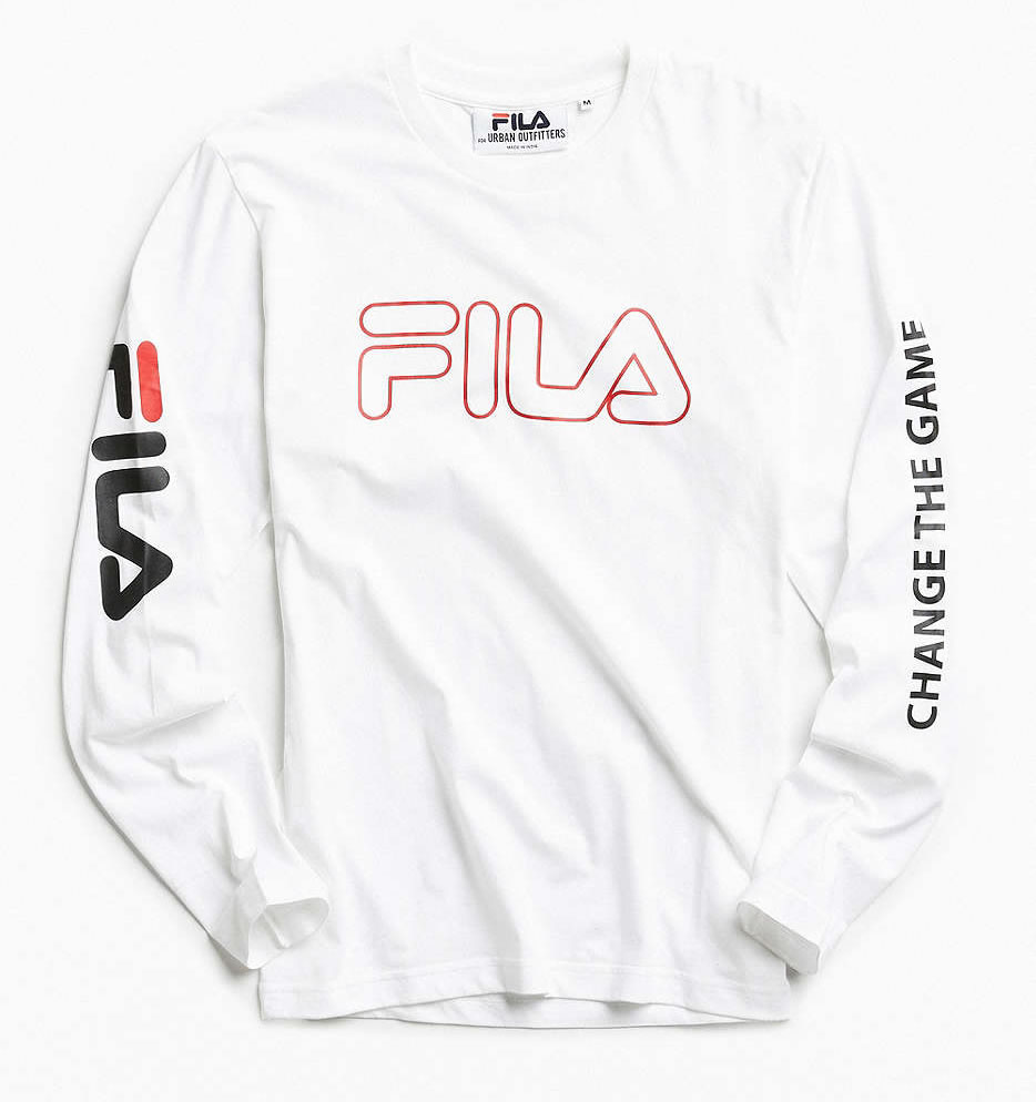 Basketball Collection by FILA + UO , Long Sleeve Tee