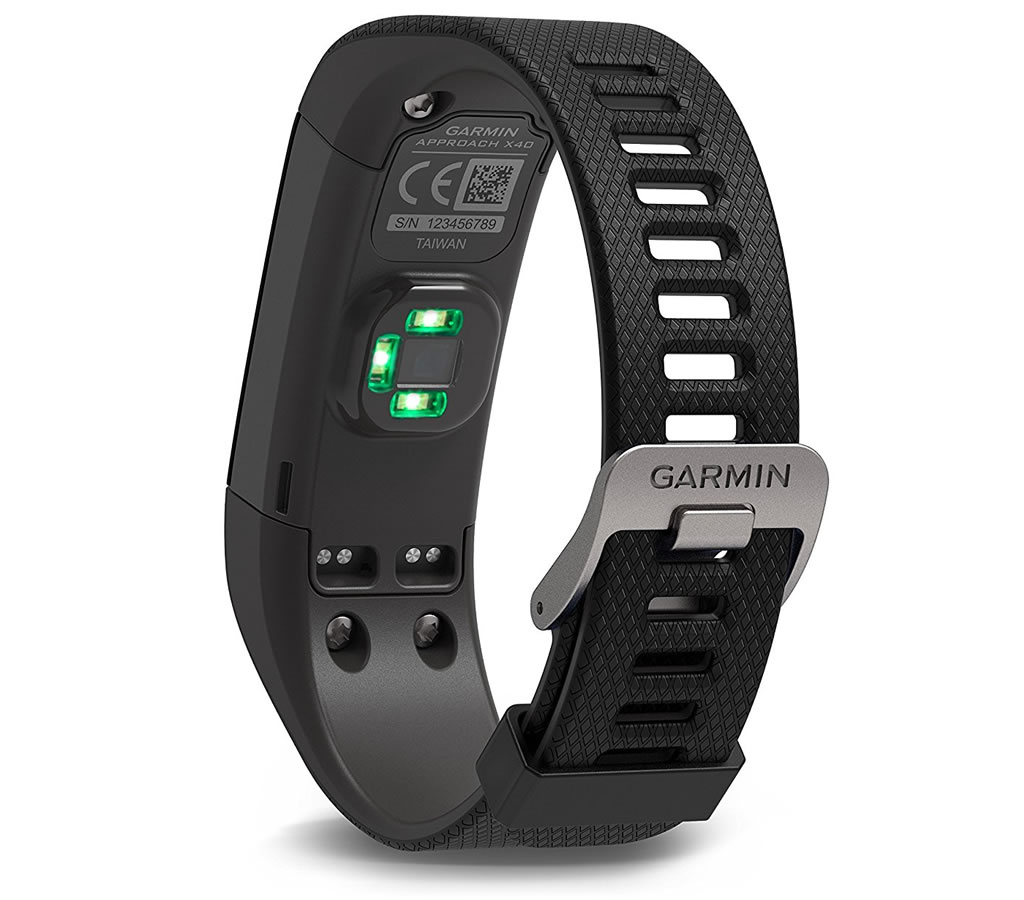Black Approach X40 by Garmin, Strap