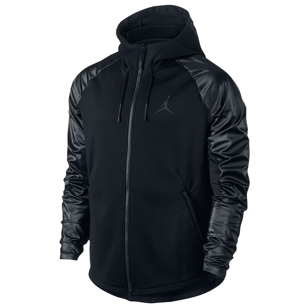 Black Jordan 360 Therma Shield Max Men's Training Hoodie