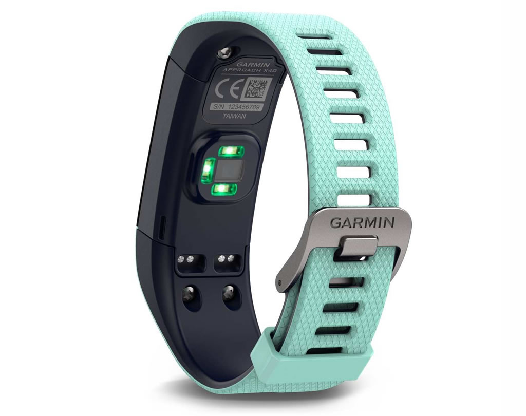 Blue Approach X40 Golf Band by Garmin