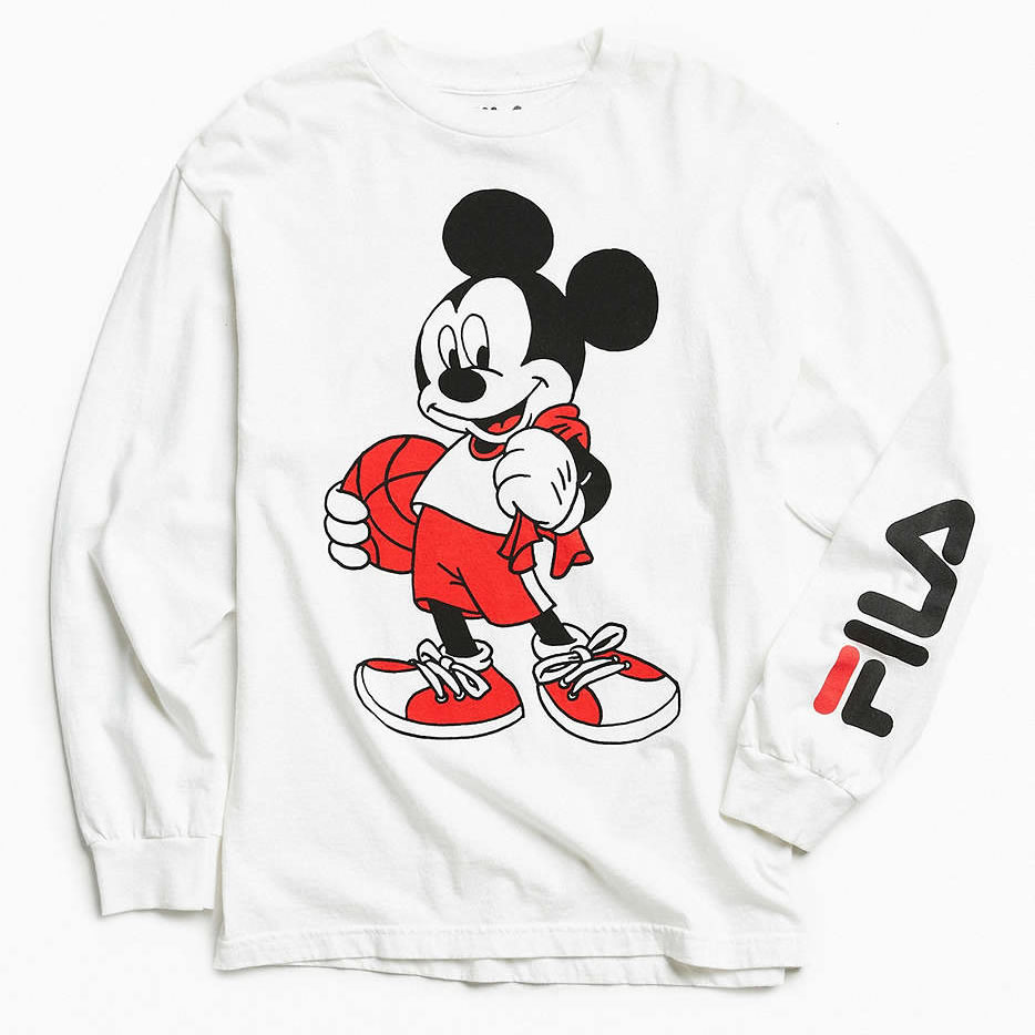 Fila Long-sleeve tee Mickey Mouse graphic