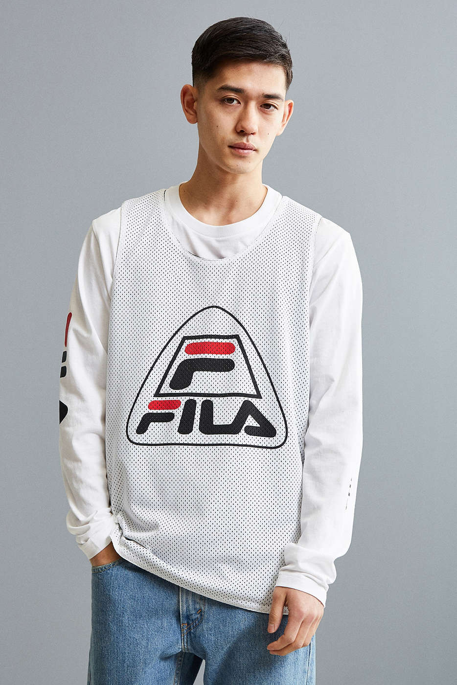 Mesh Tank Top, Basketball Collection by FILA + UO
