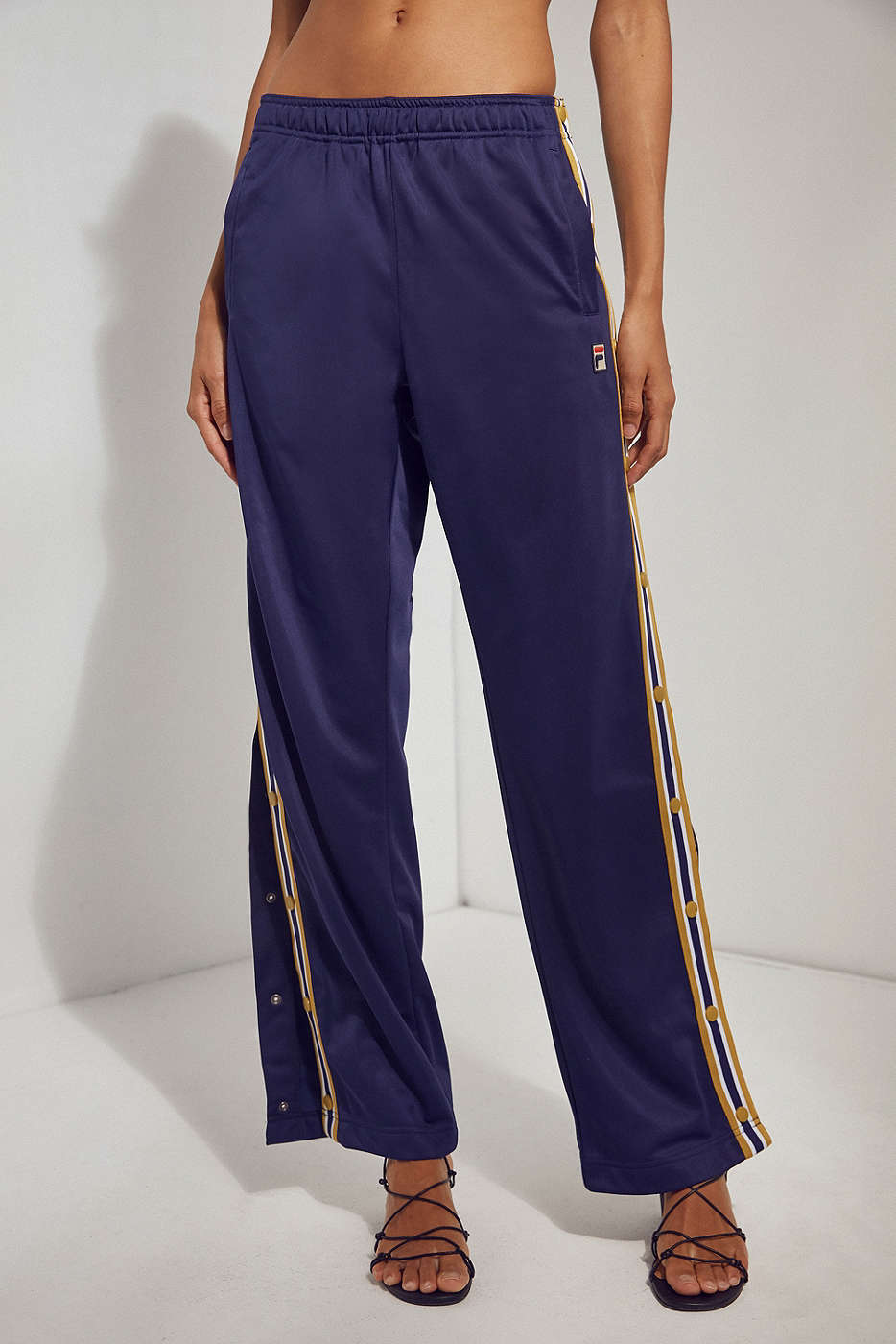 Navy Tearaway Track Pant by FILA + UO