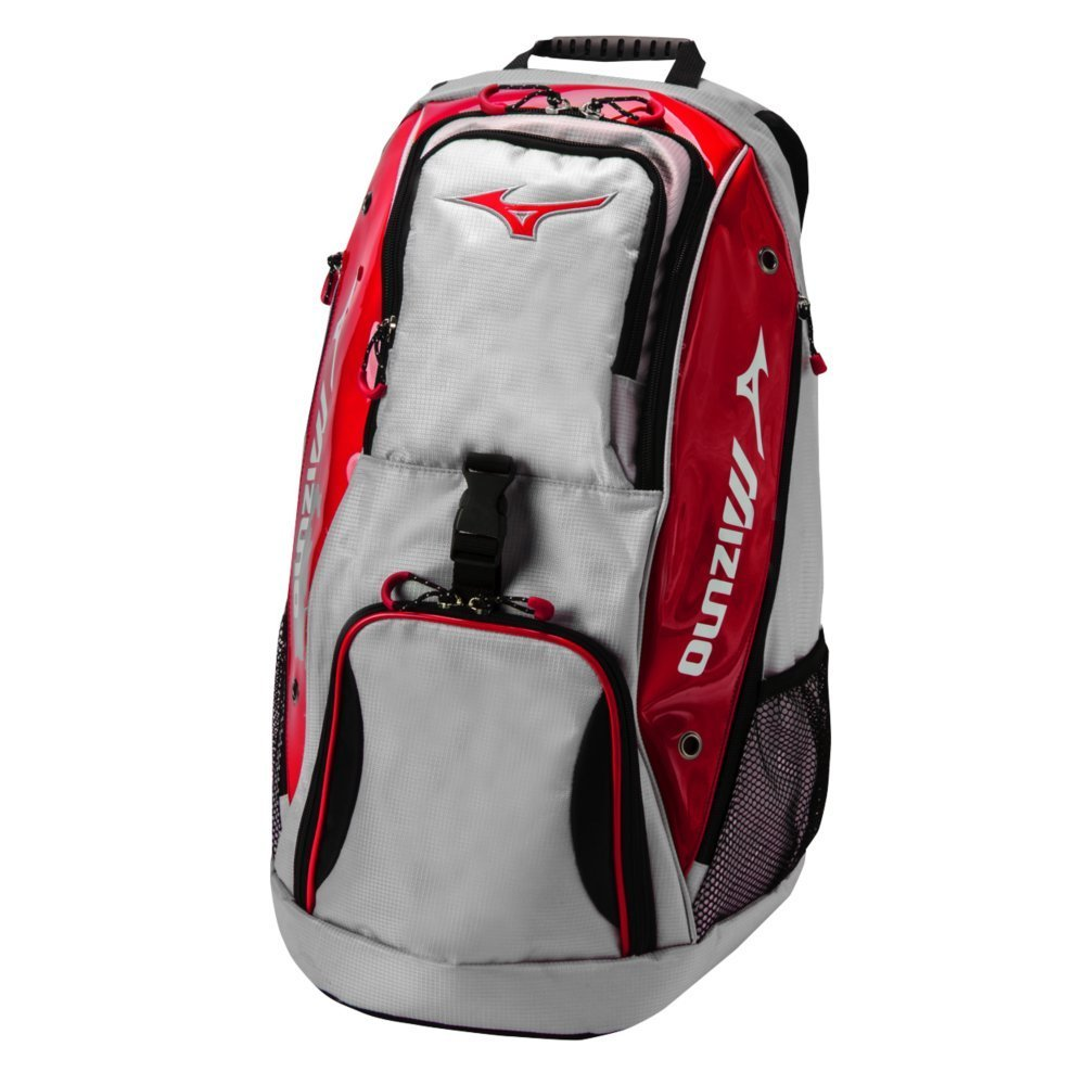 Red Tornado Volleyball Backpack by Mizuno