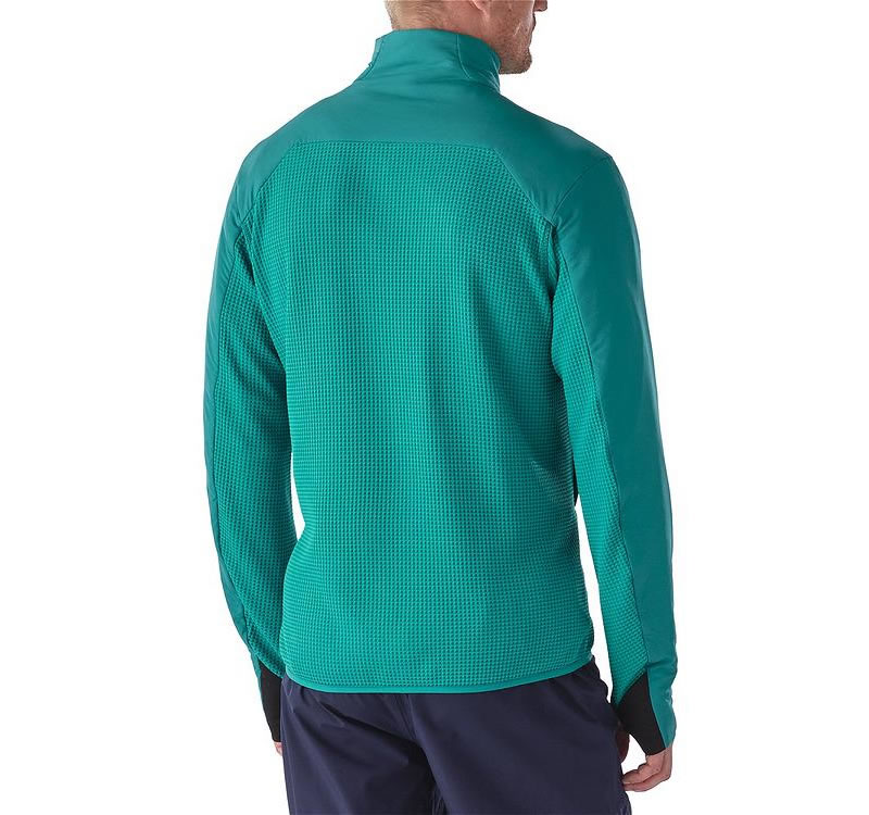 Teal Nano-Air Patagonia jacket for men, Back
