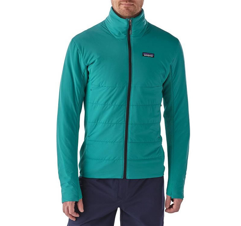 Teal Nano-Air Patagonia jacket for men