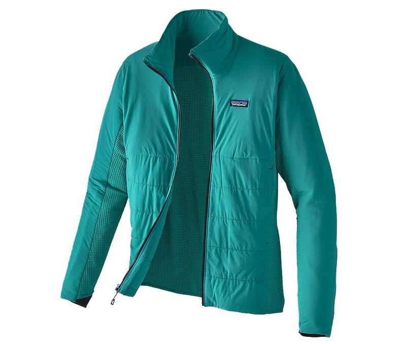 Teal Nano-Air jacket for men by Patagonia