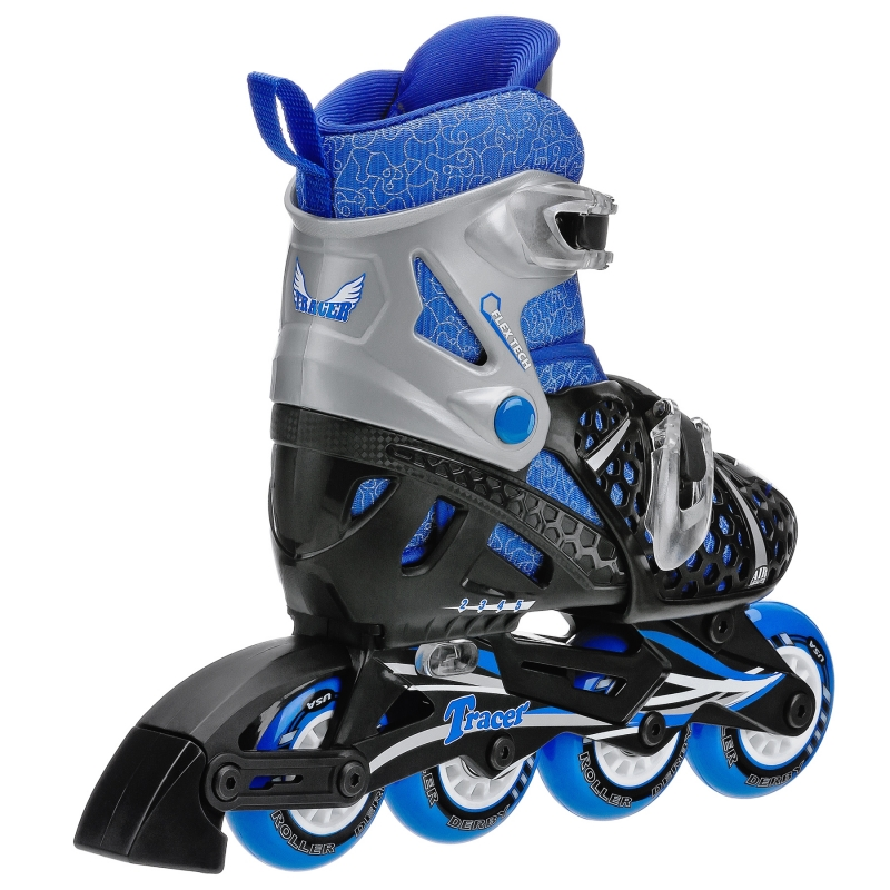 Tracer Boys Adjustable Inline Skates by Roller Derby