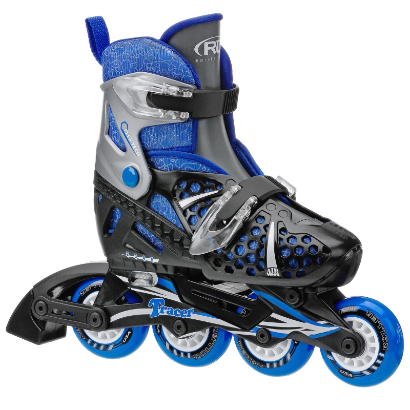Tracer Boys Size Adjustable Inline Skates by Roller Derby